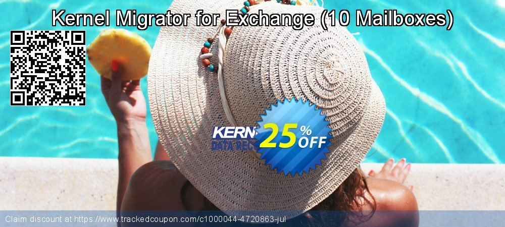 Kernel Migrator for Exchange - 10 Mailboxes  coupon on Halloween offer