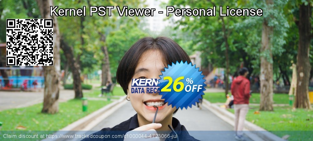 Kernel PST Viewer - Personal License coupon on Exclusive Student deals promotions