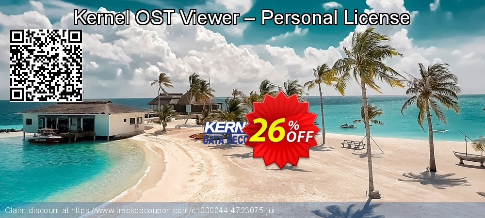 Kernel OST Viewer – Personal License coupon on Halloween sales