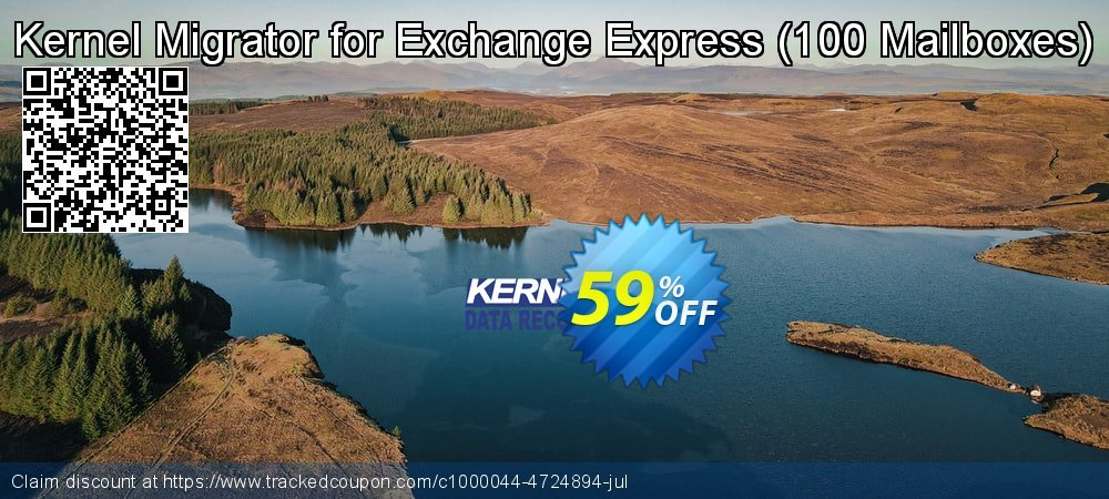 Kernel Migrator for Exchange Express - 100 Mailboxes  coupon on Halloween deals