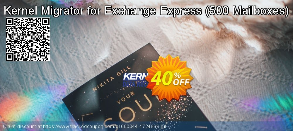 Claim 40% OFF Kernel Migrator for Exchange Express - 500 Mailboxes Coupon discount June, 2020