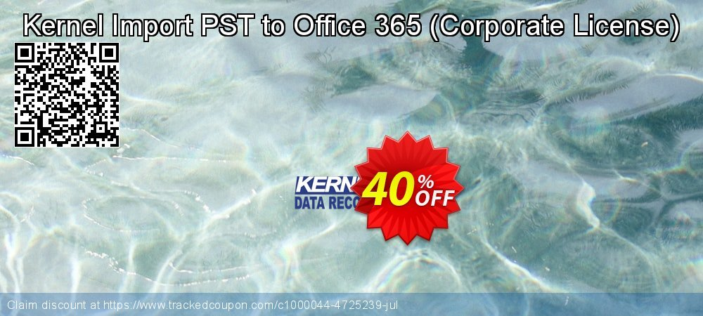 Kernel Import PST to Office 365 - Corporate License  coupon on Halloween offering discount