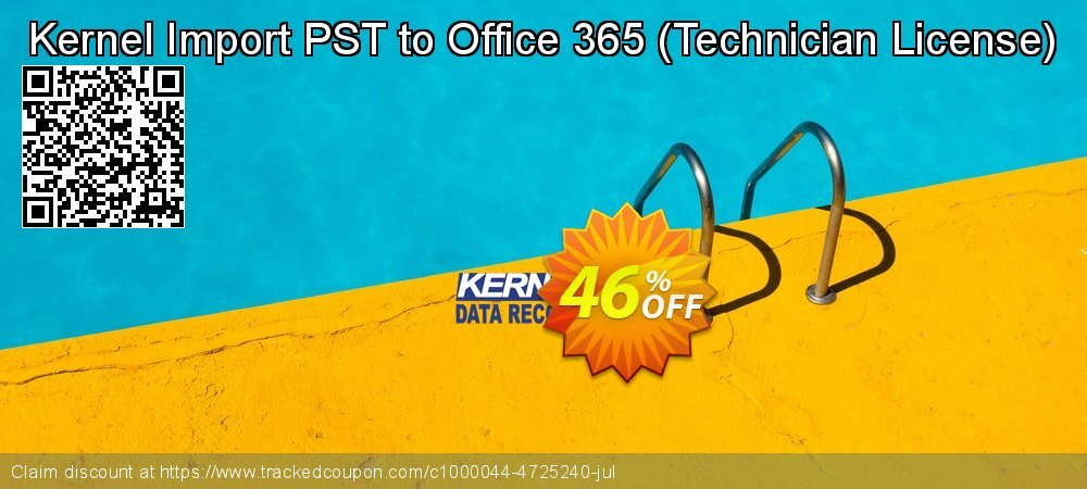 Kernel Import PST to Office 365 - Technician License  coupon on Halloween offering sales