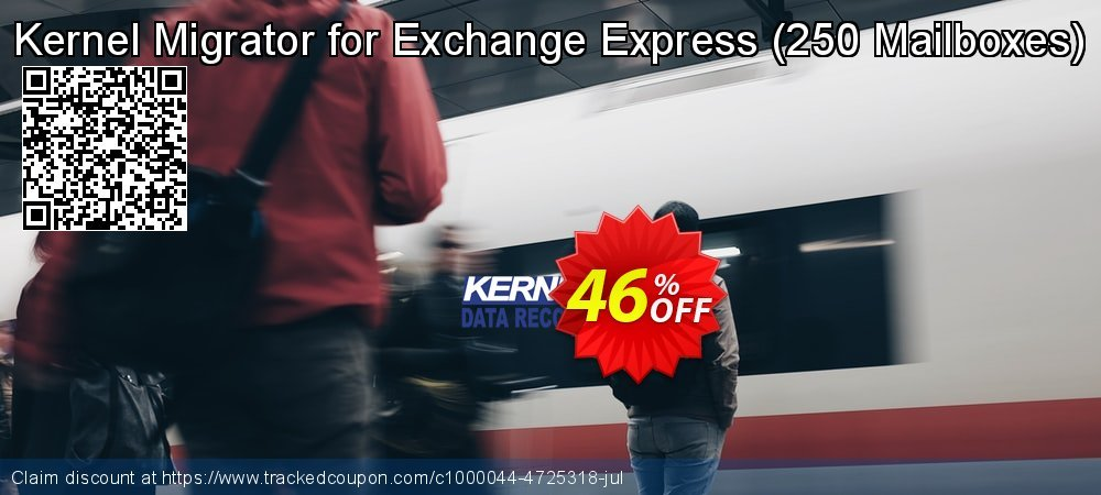 Kernel Migrator for Exchange Express - 250 Mailboxes  coupon on Halloween offer