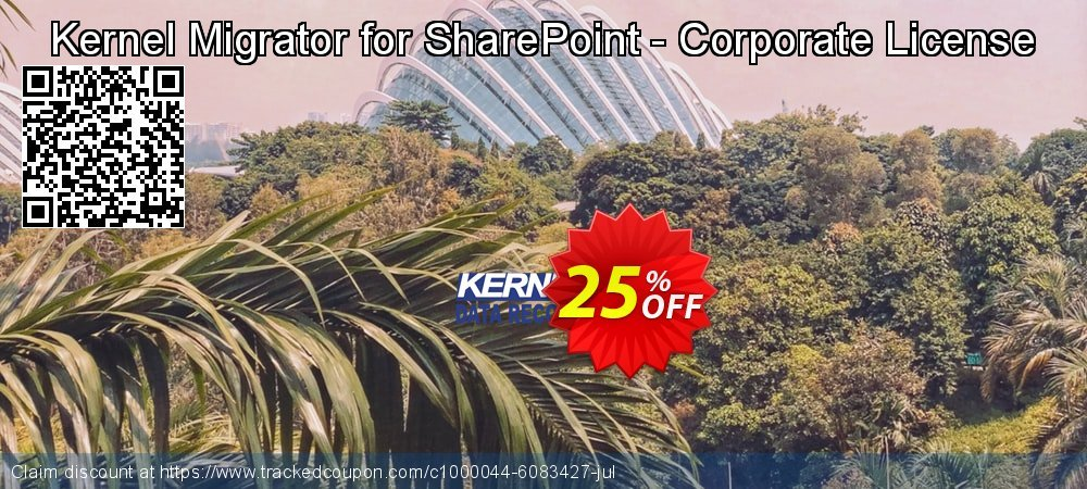 Kernel Migrator for SharePoint - Corporate License coupon on Halloween offer