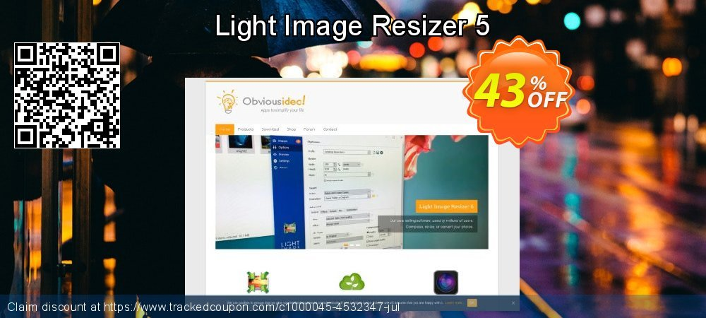 Get 20% OFF Light Image Resizer 5 discount