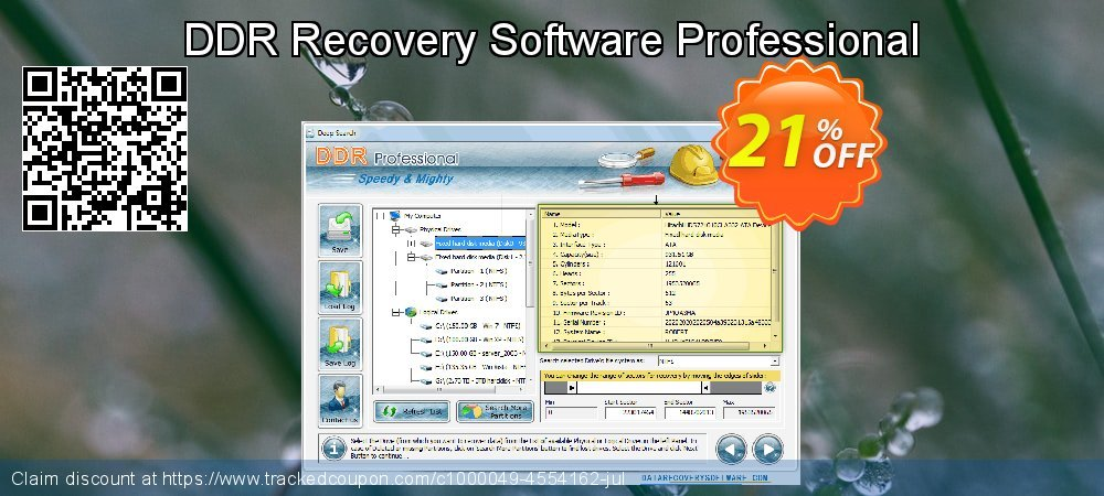 DDR Recovery Software Professional coupon on Mom Day promotions