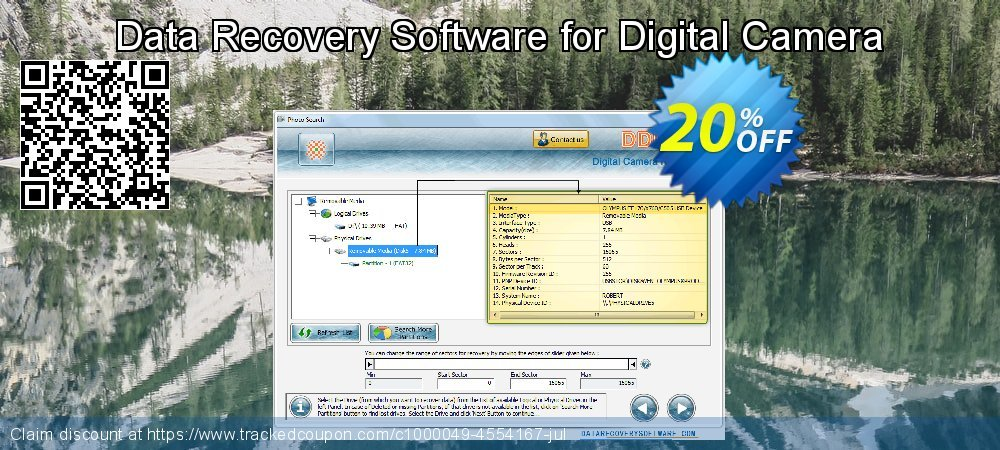 Data Recovery Software for Digital Camera coupon on Mothers Day offering discount
