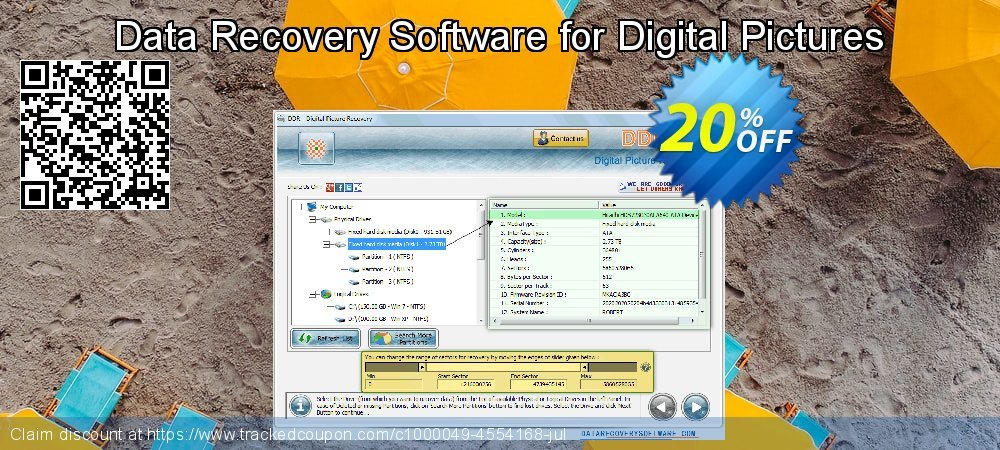 Data Recovery Software for Digital Pictures coupon on Mom Day offering sales