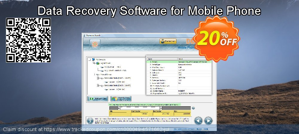Claim 20% OFF Data Recovery Software for Mobile Phone Coupon discount March, 2019