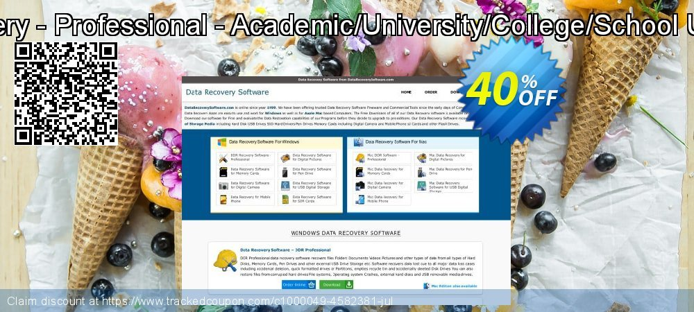 DDR Recovery - Professional - Academic/University/College/School User License coupon on Easter Sunday offer
