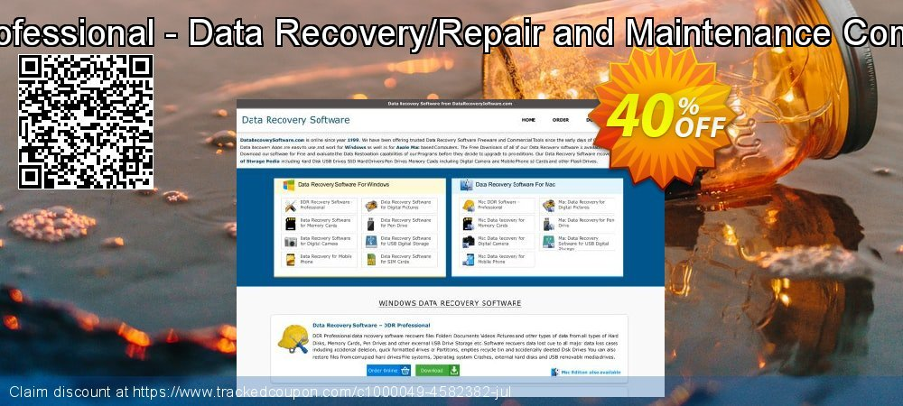 DDR Recovery - Professional - Data Recovery/Repair and Maintenance Company User License coupon on Easter discount
