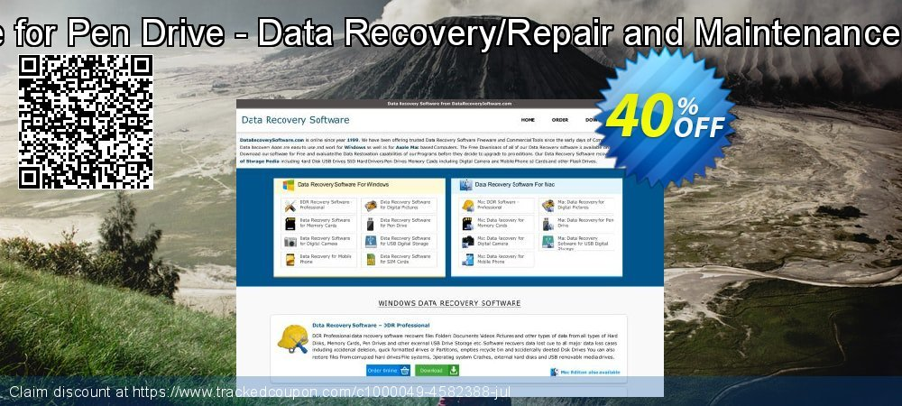Data Recovery Software for Pen Drive - Data Recovery/Repair and Maintenance Company User License coupon on April Fool's Day sales