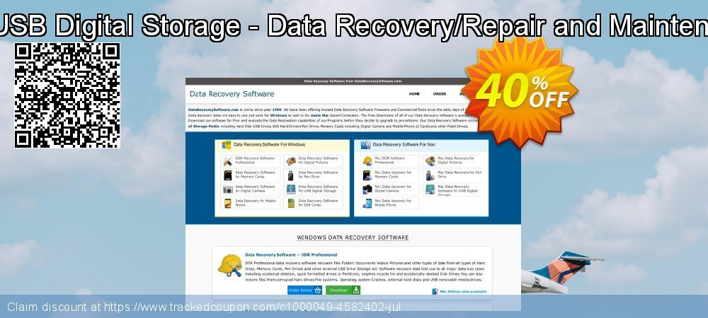 Data Recovery Software for USB Digital Storage - Data Recovery/Repair and Maintenance Company User License coupon on Easter offering sales
