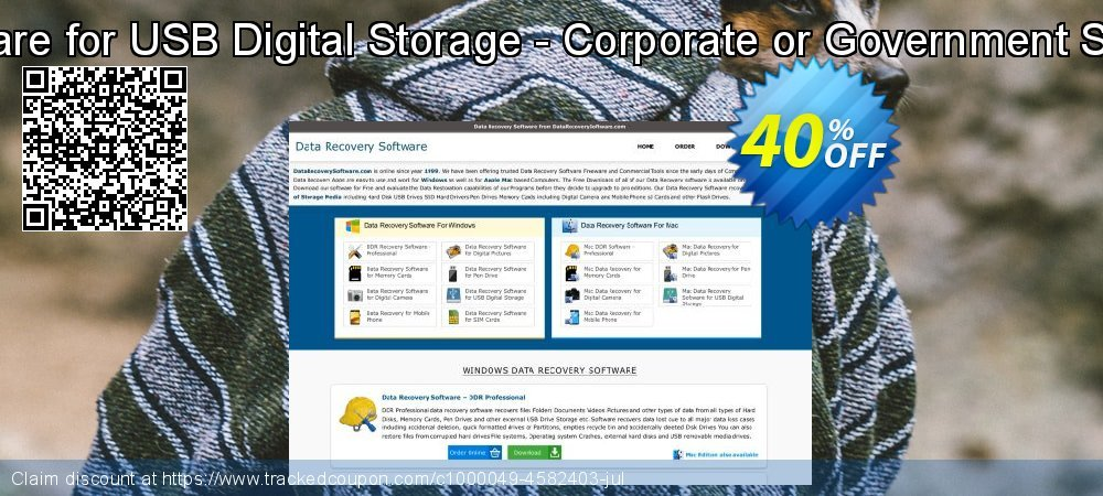 Data Recovery Software for USB Digital Storage - Corporate or Government Segment User License coupon on Spring super sale