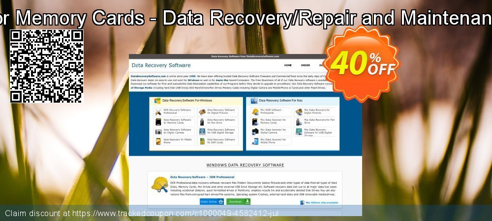 Data Recovery Software for Memory Cards - Data Recovery/Repair and Maintenance Company User License coupon on April Fool's Day super sale
