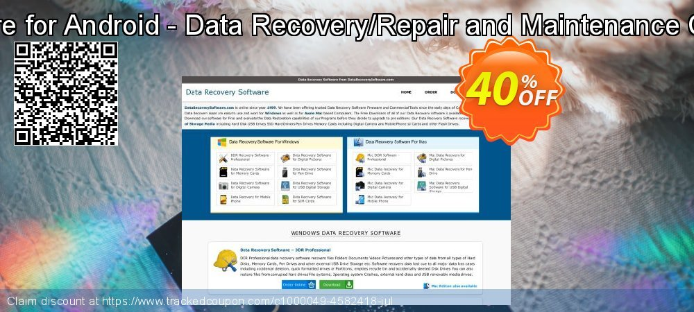 Data Recovery Software for Android - Data Recovery/Repair and Maintenance Company User License coupon on Easter discount