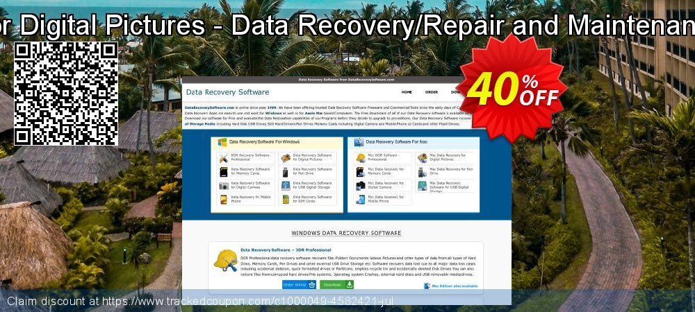 Data Recovery Software for Digital Pictures - Data Recovery/Repair and Maintenance Company User License coupon on Easter Sunday super sale