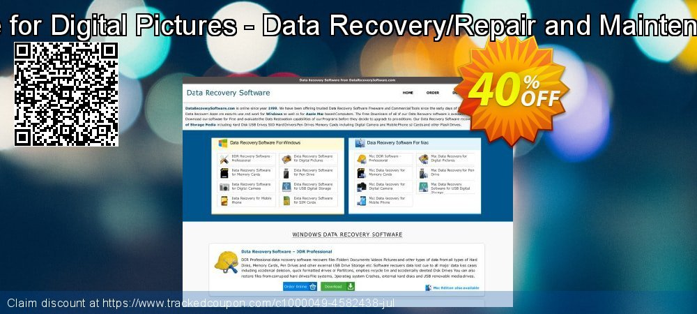 Mac Data Recovery Software for Digital Pictures - Data Recovery/Repair and Maintenance Company User License coupon on Easter offering sales