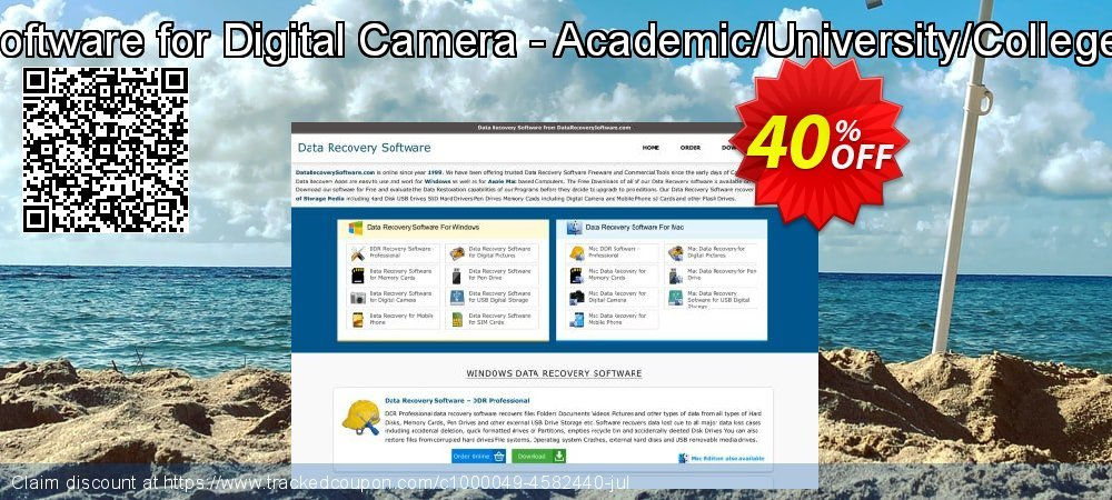 Mac Data Recovery Software for Digital Camera - Academic/University/College/School User License coupon on April Fool's Day discounts