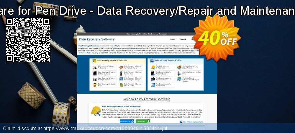 Mac Data Recovery Software for Pen Drive - Data Recovery/Repair and Maintenance Company User License coupon on April Fool's Day offer