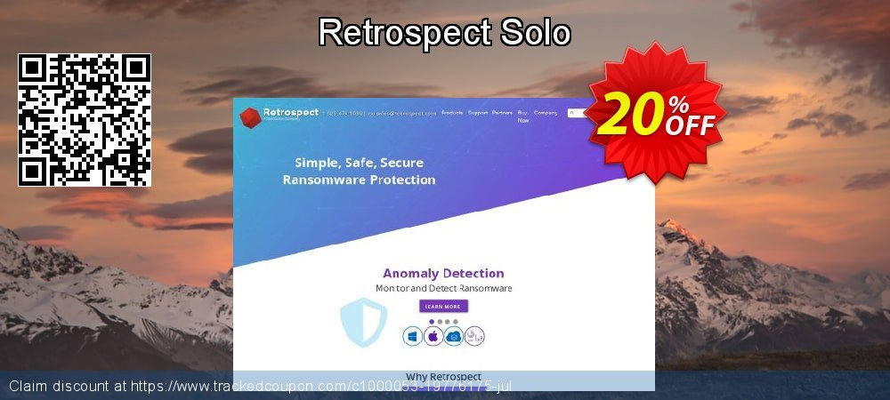 Retrospect Solo coupon on Lunar New Year super sale