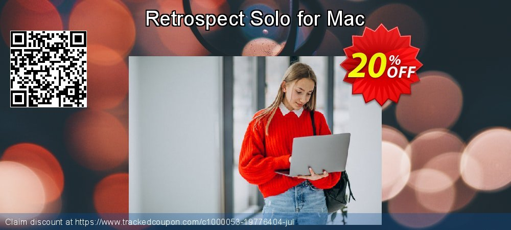 Retrospect Solo for Mac coupon on New Year deals