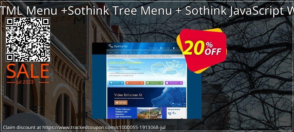 Sothink DHTML Menu +Sothink Tree Menu + Sothink JavaScript Web Scroller coupon on University Student offer deals
