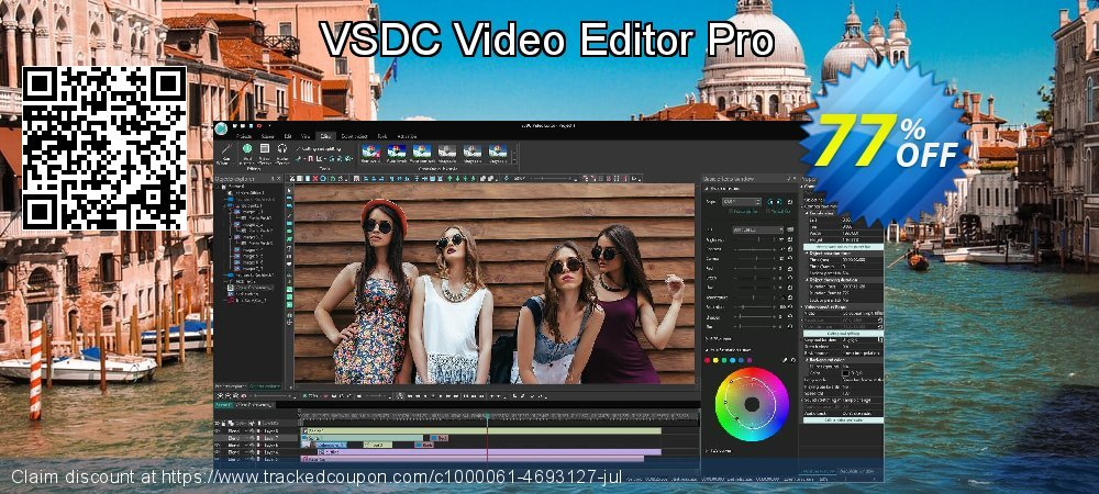 VSDC Video Editor Pro coupon on Back to School offer deals