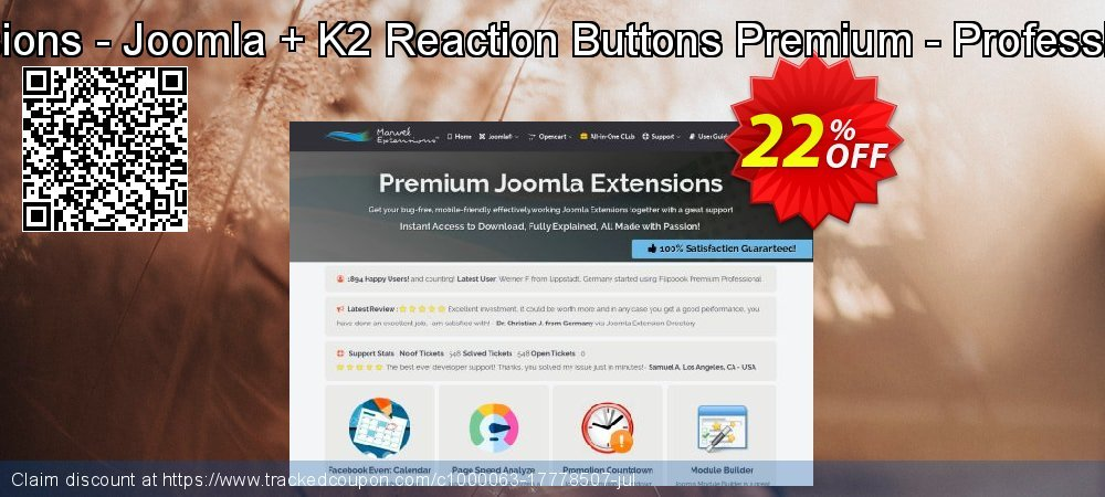 Marvel Extensions - Joomla + K2 Reaction Buttons Premium - Professional Package coupon on Halloween super sale