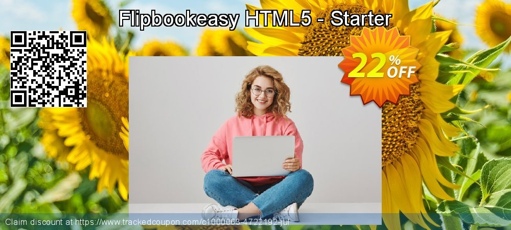 Flipbookeasy HTML5 - Starter coupon on April Fool's Day discount