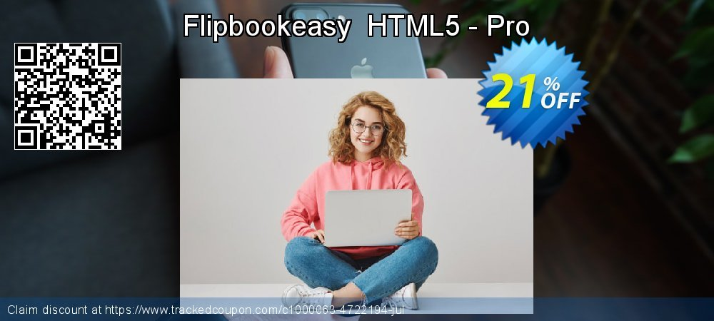 Flipbookeasy  HTML5 - Pro coupon on Easter offering sales