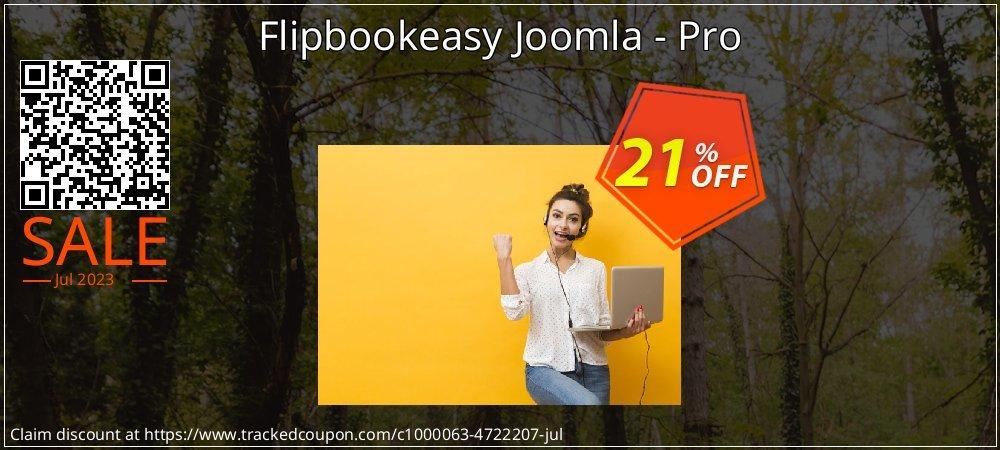 Flipbookeasy Joomla - Pro coupon on Spring sales