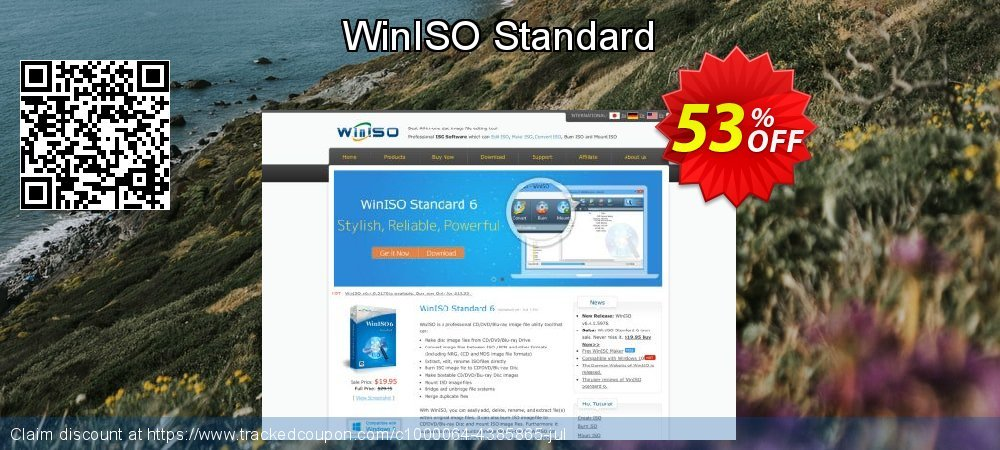 WinISO Standard coupon on Easter Sunday deals