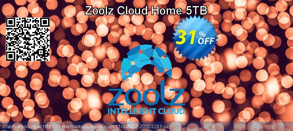 Zoolz Cloud Home 5TB coupon on Easter Sunday deals