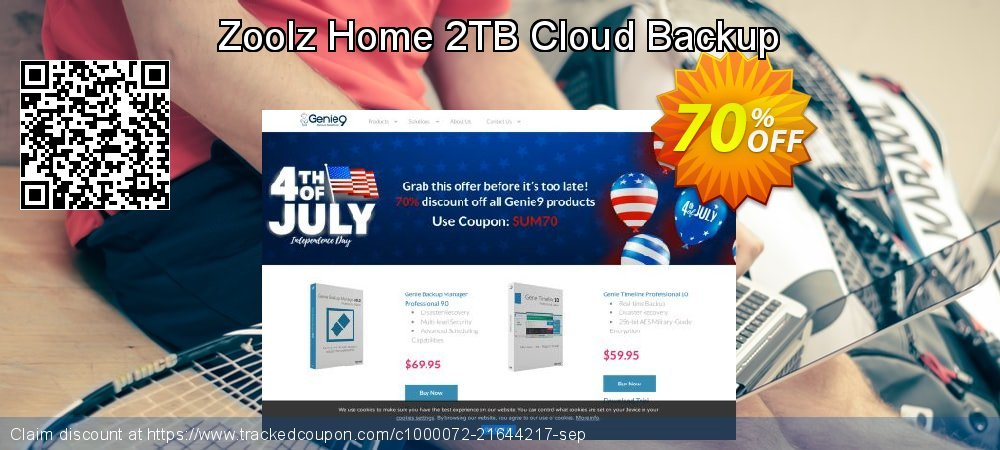 Zoolz Home Cloud SPECIAL 2 TB - Yearly coupon on Summer offering sales