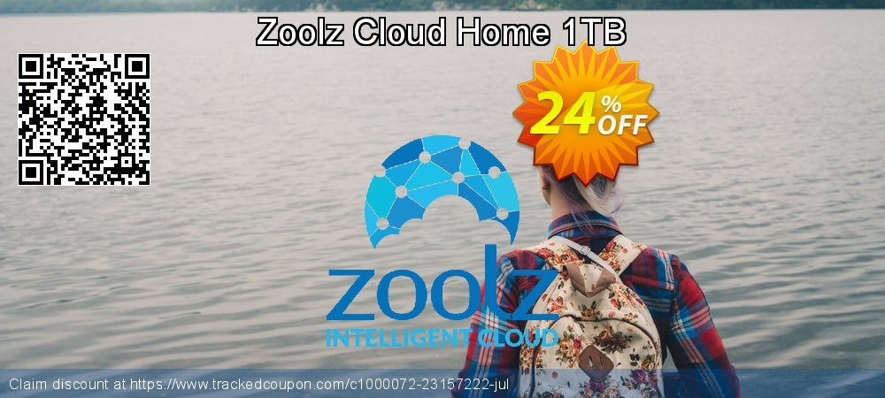 Zoolz Cloud Home 1TB coupon on Easter sales
