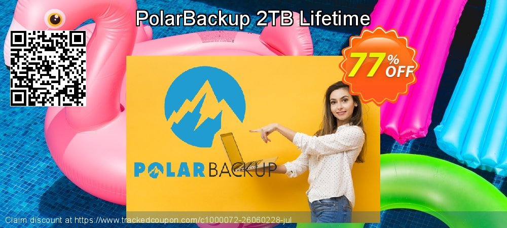 Polar Backup 2 TB - Lifetime  coupon on New Year's Day deals