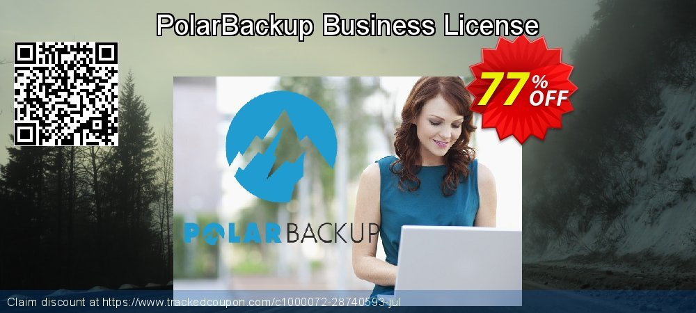 PolarBackup Business License coupon on National Noodle Day offer