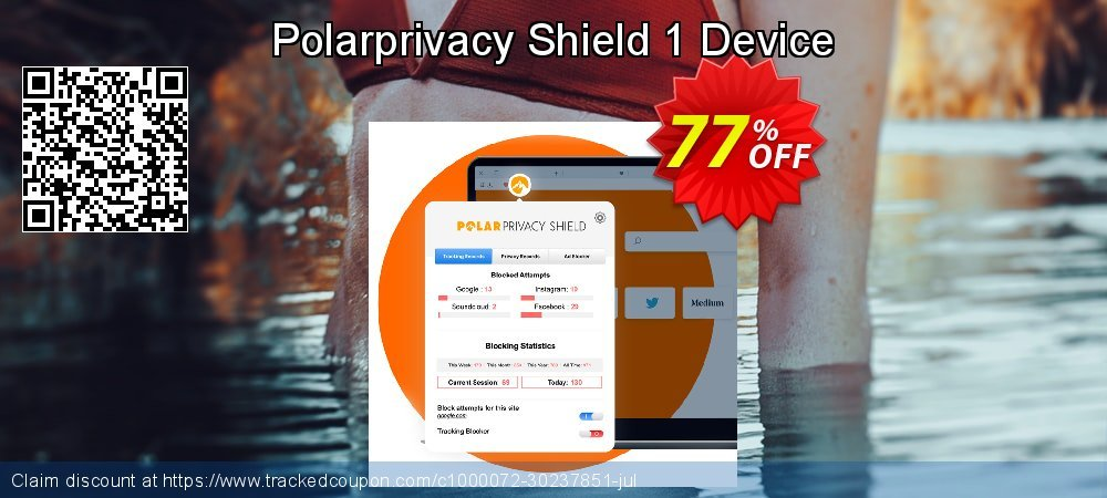 Polarprivacy Shield 1 Device coupon on Spring offering sales