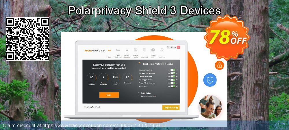 Polarprivacy Shield 3 Devices coupon on April Fool's Day sales