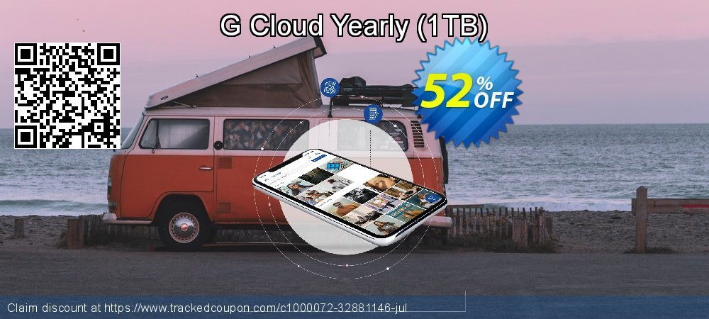 G Cloud Yearly - 1TB  coupon on National Savings Day super sale