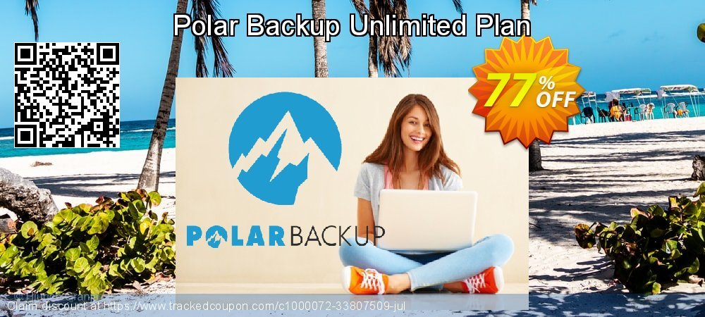 PolarBackup Unlimited Plan coupon on Easter Sunday offer