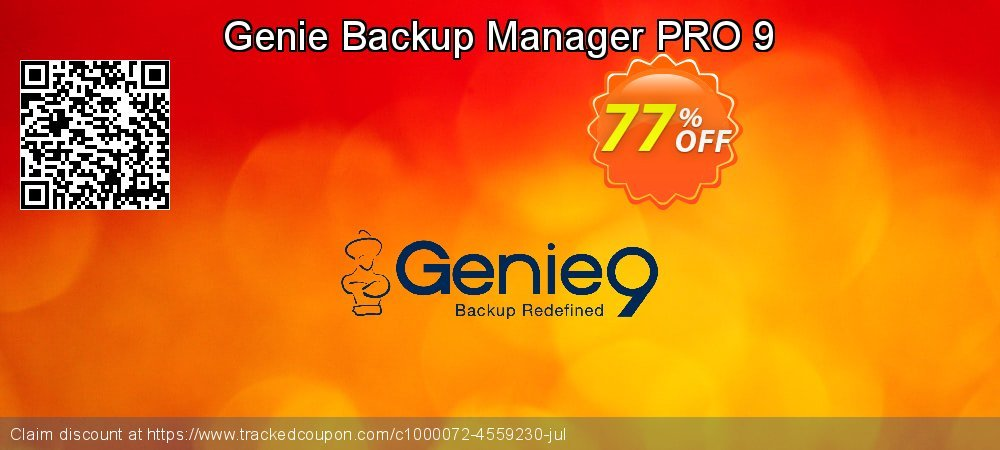 Genie Backup Manager PRO 9 coupon on World Population Day discounts