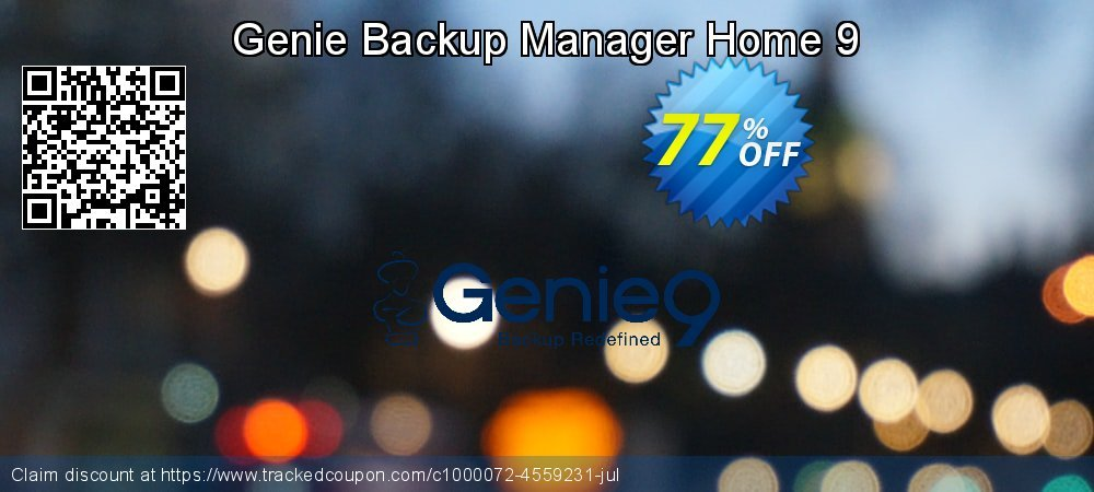 Genie Backup Manager Home 9 coupon on Nude Day promotions