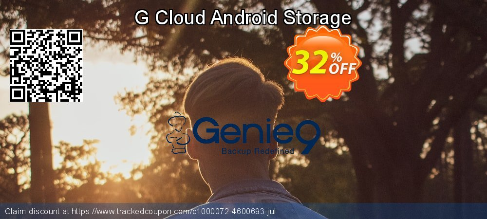 G Cloud Android Storage coupon on All Saints' Eve deals