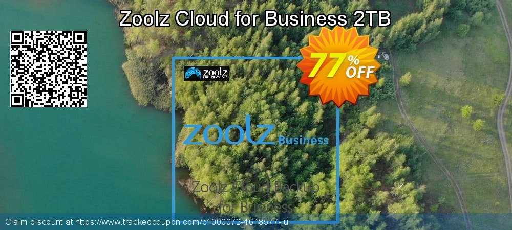 Get 61% OFF Zoolz Business Terabyte Cloud Storage (2 TB) - Unlimited Users/Servers promotions