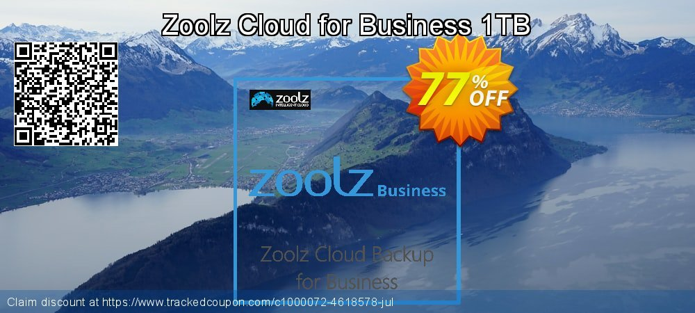 Zoolz Cloud for Business 1TB coupon on Easter super sale