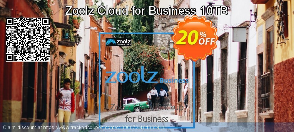 Zoolz Cloud for Business 10TB coupon on April Fool's Day discounts