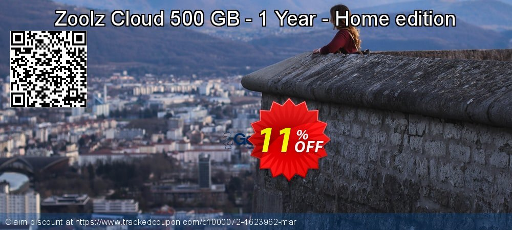 Get 10% OFF Zoolz Cloud 500 GB - 1 Year - Home edition offering sales